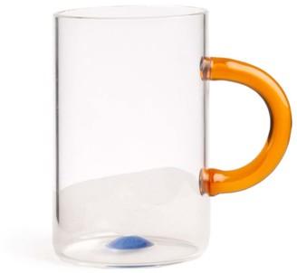 And Jacob Glass Tea Cup With Yellow Handle