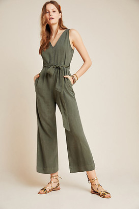 Cloth & Stone Matilda Jumpsuit By in Green Size L