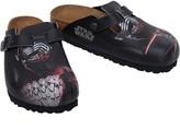 Birkenstock Boston Birko-Flor Narrow Fit Sandals Kylo Red Black