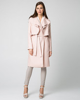 Le Château Lyocell Notch Collar Trench Coat