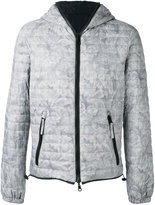 Duvetica floral-print quilted jacket - men - Feather Down/Polyamide - 46