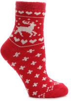 Sof Sole Women's Nordic Deer Women's Slipper Socks
