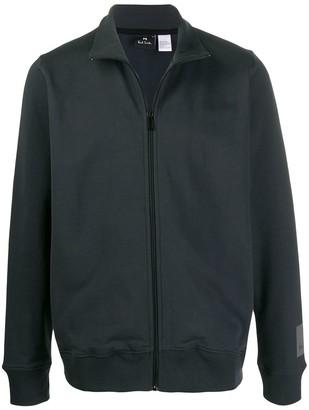 Paul Smith Zip-Up Funnel-Neck Jacket