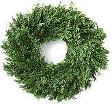 "Knud Nielsen Company 24"" Boxwood Wreath - Preserved"