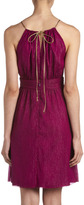 Nicole Miller Keyhole Halter Dress