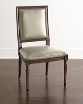Horchow Massoud Ingram Leather Dining Chair, D3
