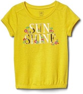 Gap Embellished graphic bubble tee