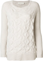 L'Autre Chose textured knit jumper