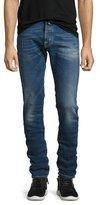 Jacob Cohen Medium-Wash Slim-Fit Stretch-Denim Jeans, Blue