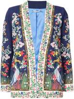 Alice + Olivia Alice+Olivia embroidered floral jacket