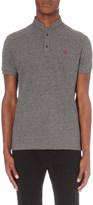 The Kooples Slim-fit cotton-piqué polo shirt
