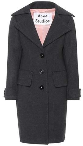 Acne Studios Cherl T Melton wool coat