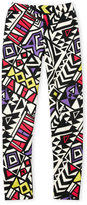 Dirtee Hollywood Girls 7-16) Abstract Leggings