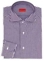 Isaia Regular-Fit Gingham Quadretti Dress Shirt