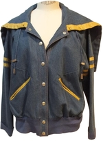 Christian Dior Blue Denim - Jeans Biker jacket