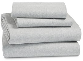 Coyuchi Cloud Brushed Organic Cotton Flannel Sheet Set, King
