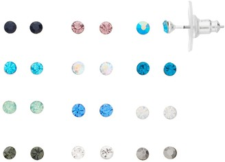 Lauren Conrad Simulated Stone Earring Set