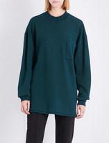 Yeezy Season 5 oversized cotton-jersey sweatshirt