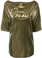 Vivienne Westwood Open 24 Hours T-shirt