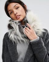 Urban Code Urbancode Long Pile Faux Fur Infinity scarf