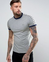 Fred Perry Sports Authentic T-Shirt in Gray