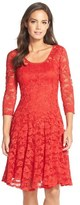 Chetta B 'Magic' Lace Fit & Flare Dress