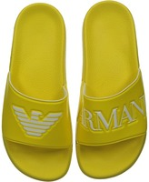 Armani Junior Slip-On Sandal with Logo Boys Shoes