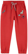 Ermanno Scervino Tracksuit pants with patches