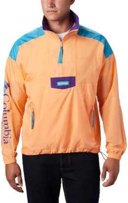 Columbia Santa Ana Half-Zipped Jacket - Peach / Green