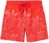 Vilebrequin Moorea Long-Length Printed Swim Shorts