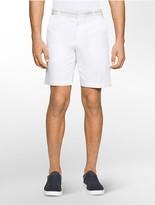 Calvin Klein Slim Fit Grosgrain Waistband Shorts
