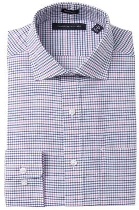 Tommy Hilfiger Regular Fit Plaid Dress Shirt