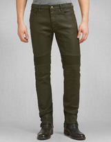 Belstaff Eastham Slim Fit Trousers Bronze Green