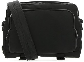 Prada Double Zipped Buckle Detail Camera Bag
