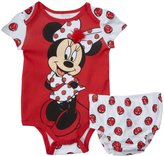 Disney Minnie Diaper Cover Set (Baby) - Red-6-9 Months