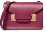 Sophie Hulme Milner Nano Leather Shoulder Bag - Plum