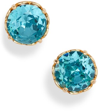 Kate Spade That Sparkle Round Stud Earrings