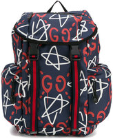 Gucci GucciGhost canvas techpack - men - Polyester - One Size