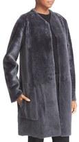 Vince Women's Reversible Genuine Shearling Car Coat
