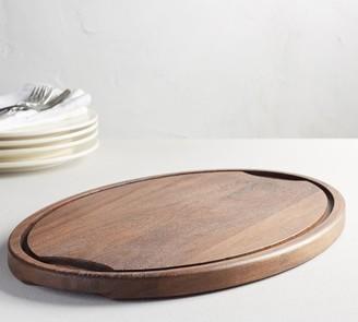 Pottery Barn Chateau Acacia Wood Turkey Carving Platter