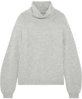 Allude Cashmere Turtleneck Sweater - Light gray