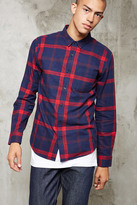 Forever 21 FOREVER 21+ Classic Plaid Flannel Shirt