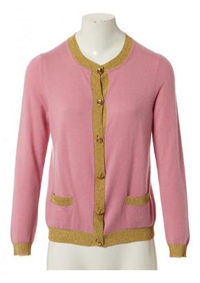 Gucci Pink Cashmere Knitwear