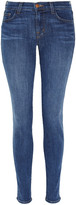Denim 811 cropped mid-rise skinny jeans