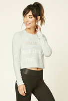Forever 21 Active Break The Mold Pullover