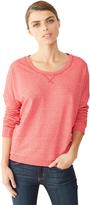 Alternative Sunset Eco-Mock Twist Crew Sweatshirt