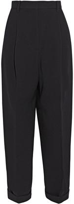 3.1 Phillip Lim Satin-trimmed Crepe Straight-leg Pants