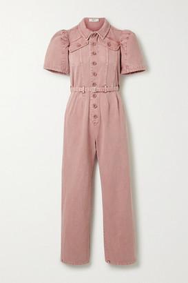 Sea Corbin Denim Jumpsuit - Pink