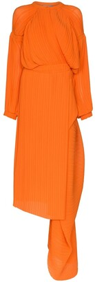 Preen by Thornton Bregazzi Melody draped midi dress