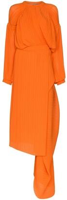 Preen by Thornton Bregazzi Melody draped midi dress